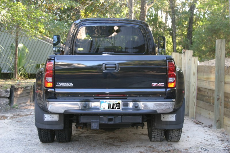 GMC Topkick With Chevy Silverado Tail Lamps